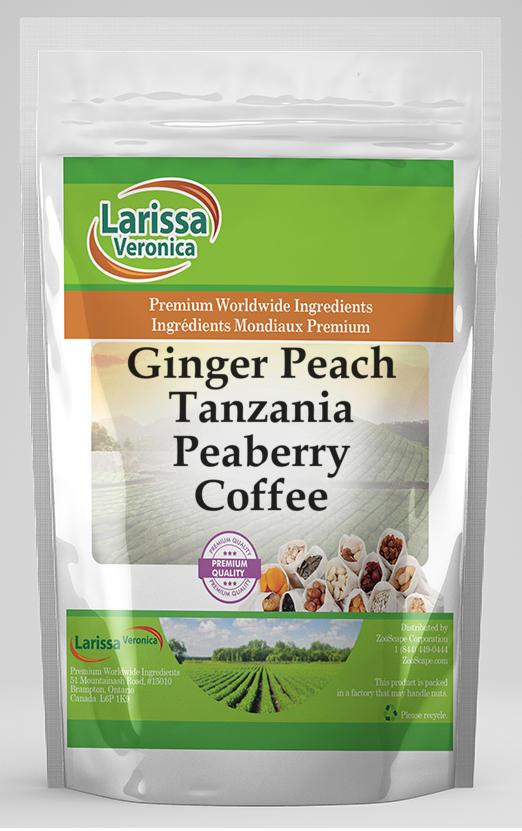 Ginger Peach Tanzania Peaberry Coffee