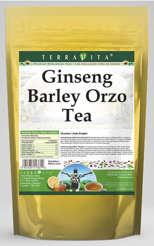 Ginseng Barley Orzo Tea