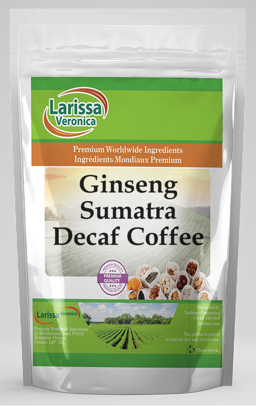 Ginseng Sumatra Decaf Coffee