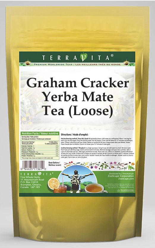 Graham Cracker Yerba Mate Tea (Loose)