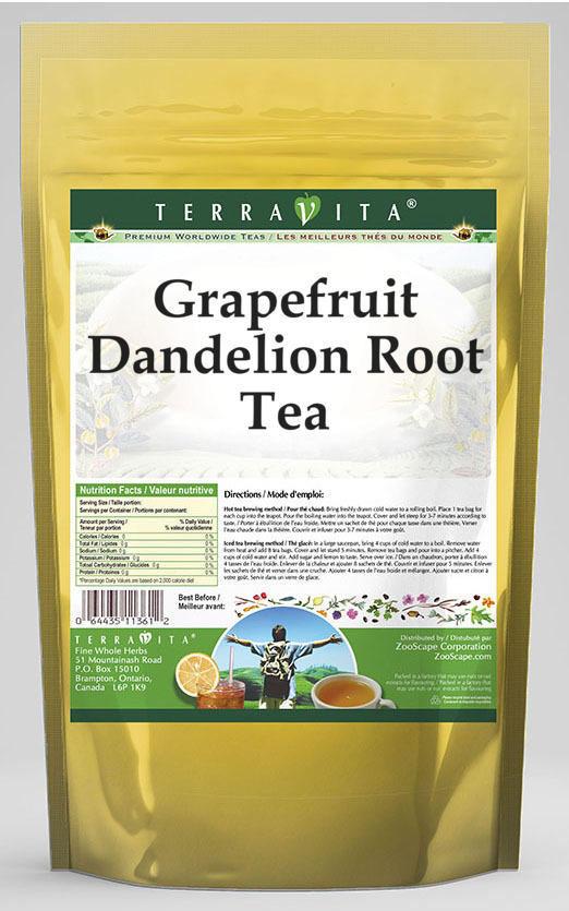 Grapefruit Dandelion Root Tea