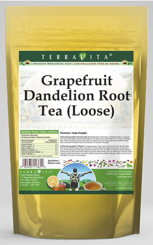 Grapefruit Dandelion Root Tea (Loose)