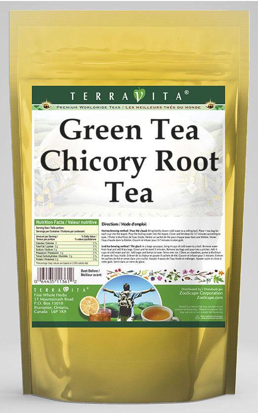 Green Tea Chicory Root Tea