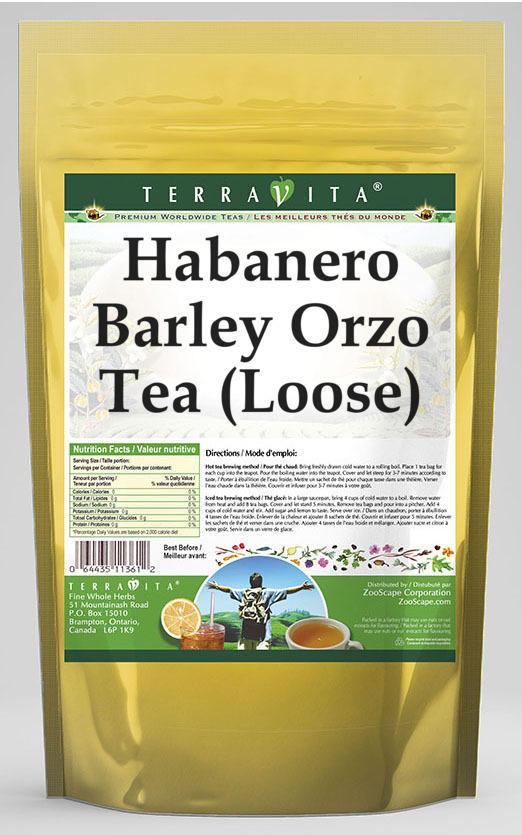 Habanero Barley Orzo Tea (Loose)
