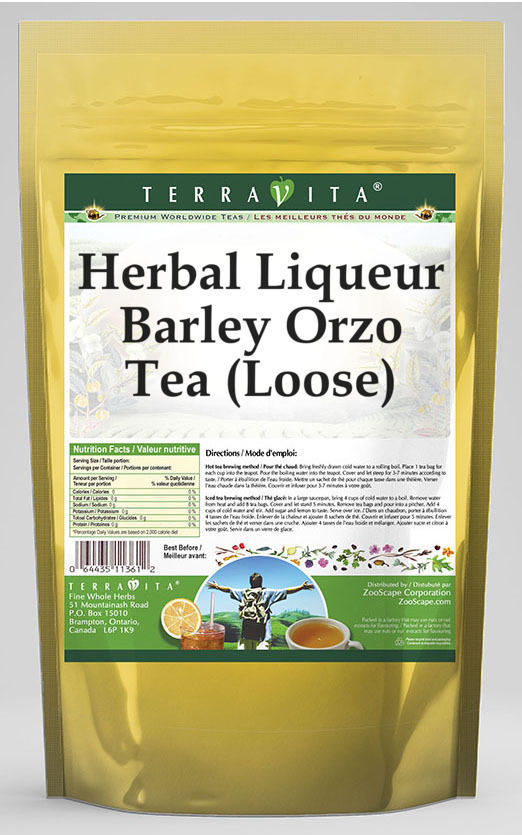 Herbal Liqueur Barley Orzo Tea (Loose)