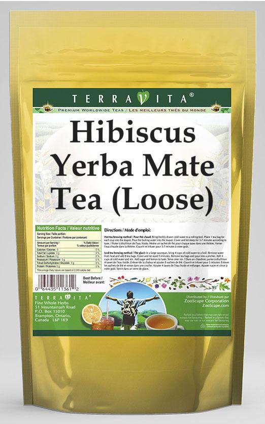 Hibiscus Yerba Mate Tea (Loose)