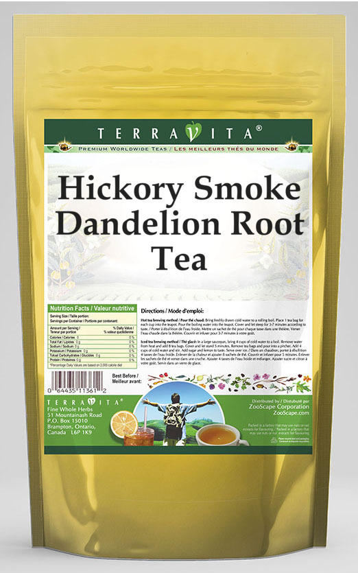 Hickory Smoke Dandelion Root Tea