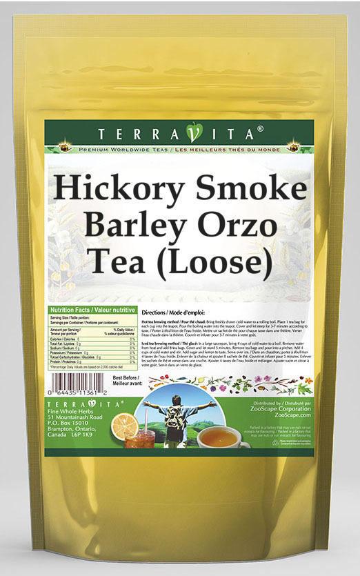 Hickory Smoke Barley Orzo Tea (Loose)