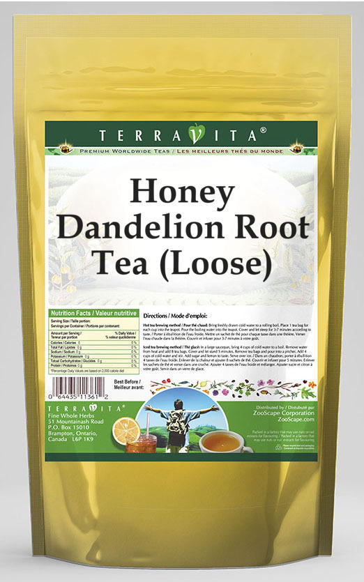 Honey Dandelion Root Tea (Loose)