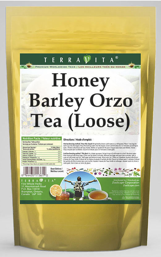 Honey Barley Orzo Tea (Loose)