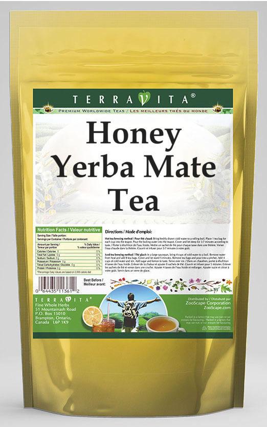 Honey Yerba Mate Tea