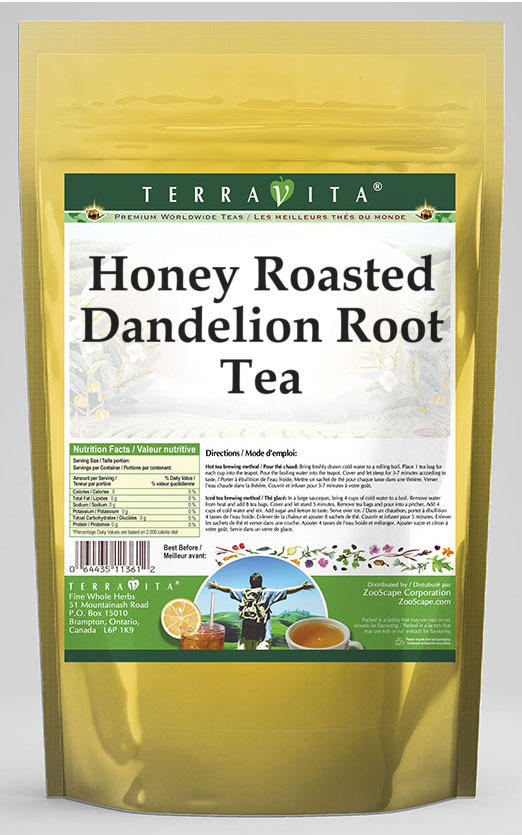 Honey Roasted Dandelion Root Tea