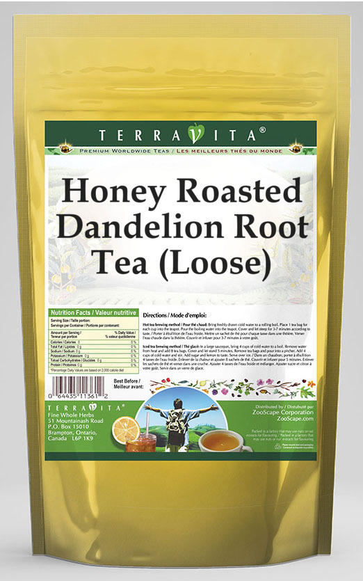 Honey Roasted Dandelion Root Tea (Loose)