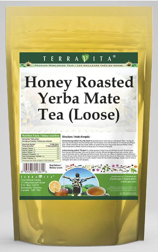 Honey Roasted Yerba Mate Tea (Loose)