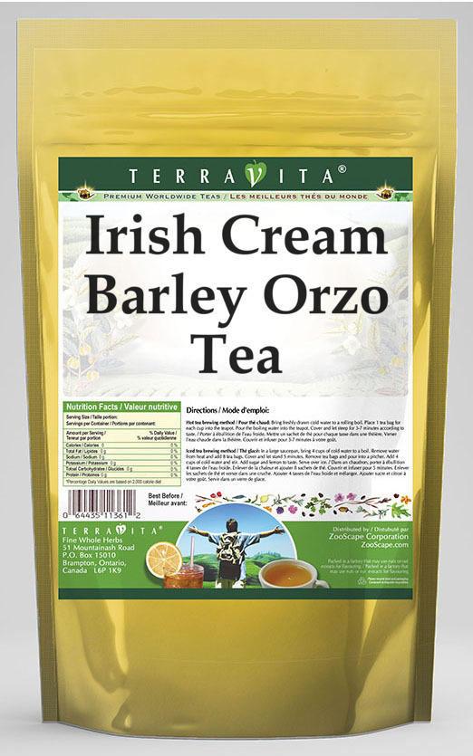 Irish Cream Barley Orzo Tea