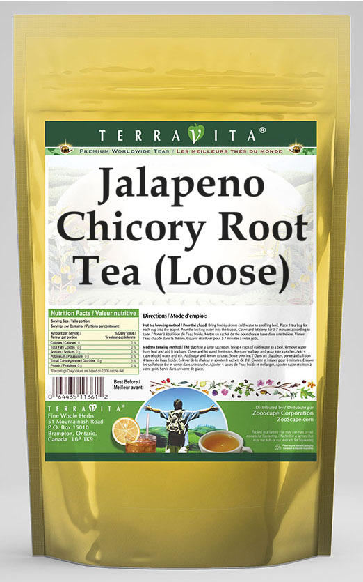 Jalapeno Chicory Root Tea (Loose)