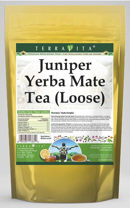Juniper Yerba Mate Tea (Loose)