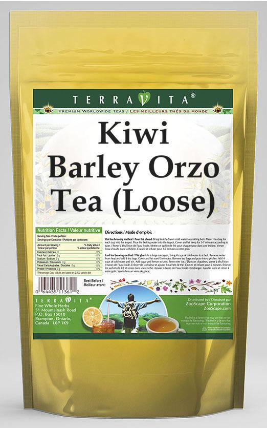 Kiwi Barley Orzo Tea (Loose)
