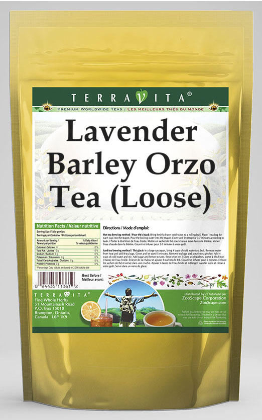 Lavender Barley Orzo Tea (Loose)