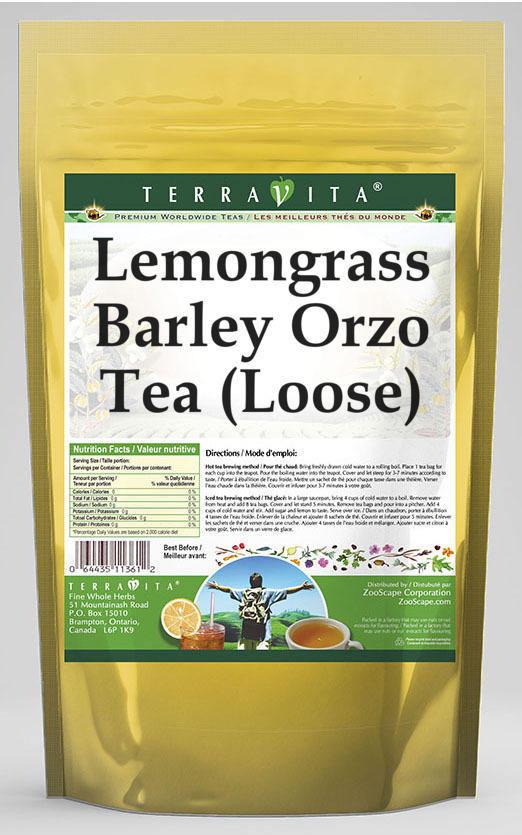 Lemongrass Barley Orzo Tea (Loose)