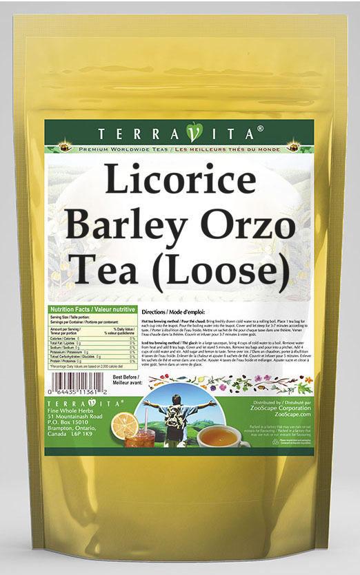 Licorice Barley Orzo Tea (Loose)