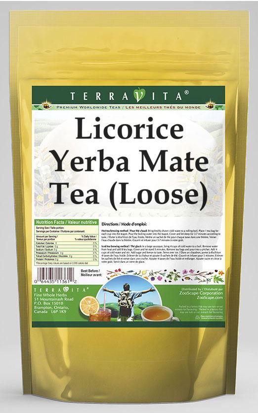 Licorice Yerba Mate Tea (Loose)