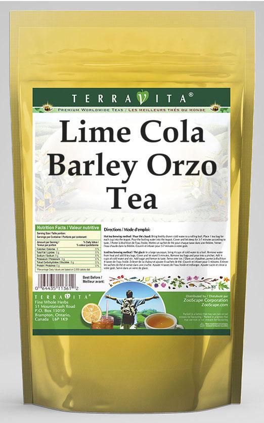 Lime Cola Barley Orzo Tea
