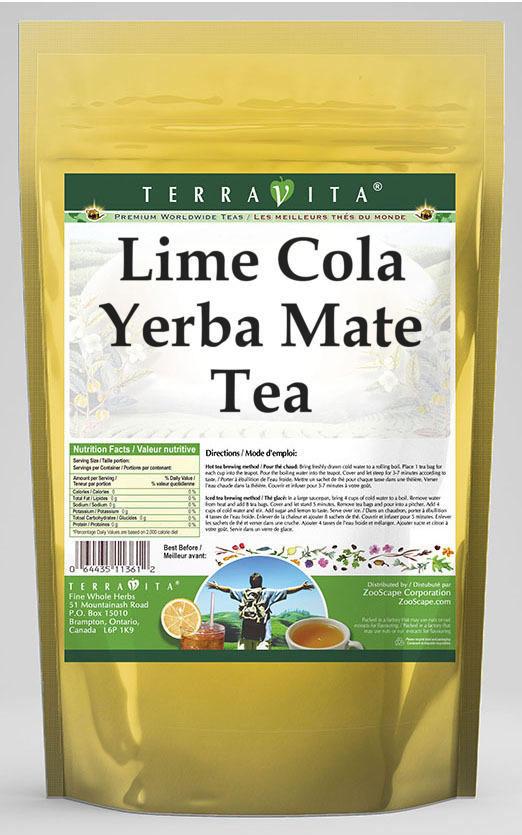 Lime Cola Yerba Mate Tea