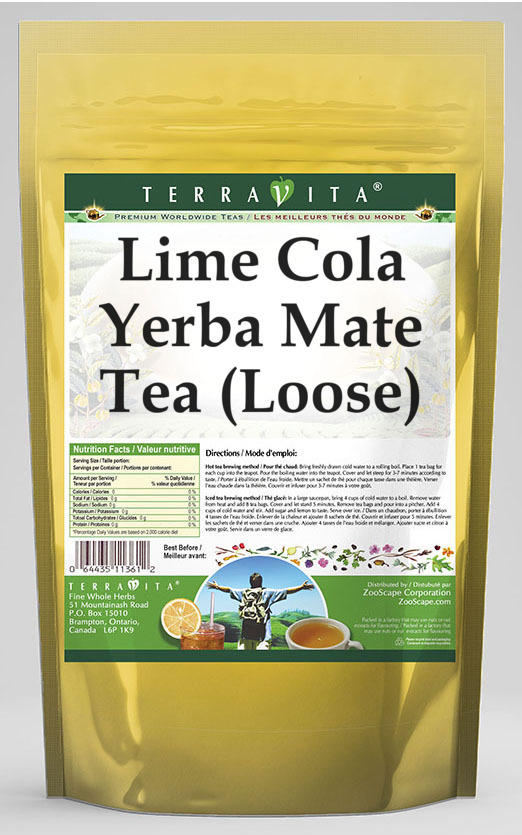 Lime Cola Yerba Mate Tea (Loose)