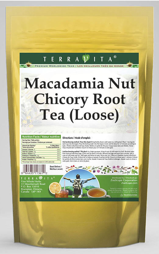 Macadamia Nut Chicory Root Tea (Loose)