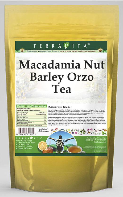 Macadamia Nut Barley Orzo Tea