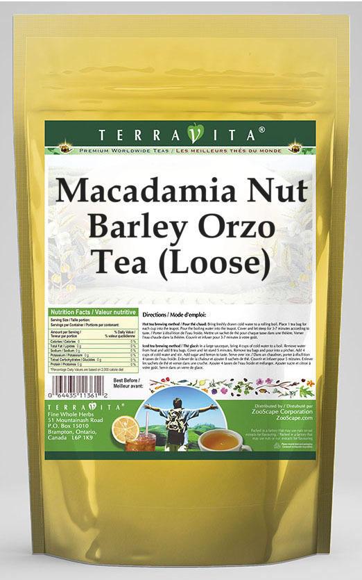 Macadamia Nut Barley Orzo Tea (Loose)