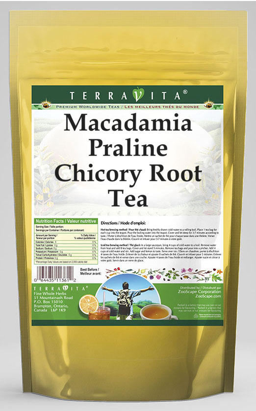 Macadamia Praline Chicory Root Tea