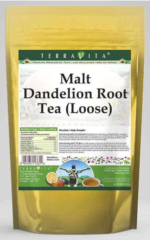 Malt Dandelion Root Tea (Loose)