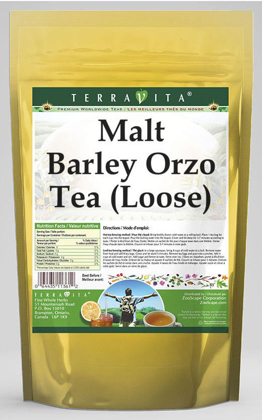 Malt Barley Orzo Tea (Loose)