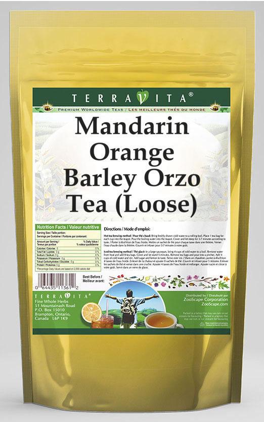 Mandarin Orange Barley Orzo Tea (Loose)