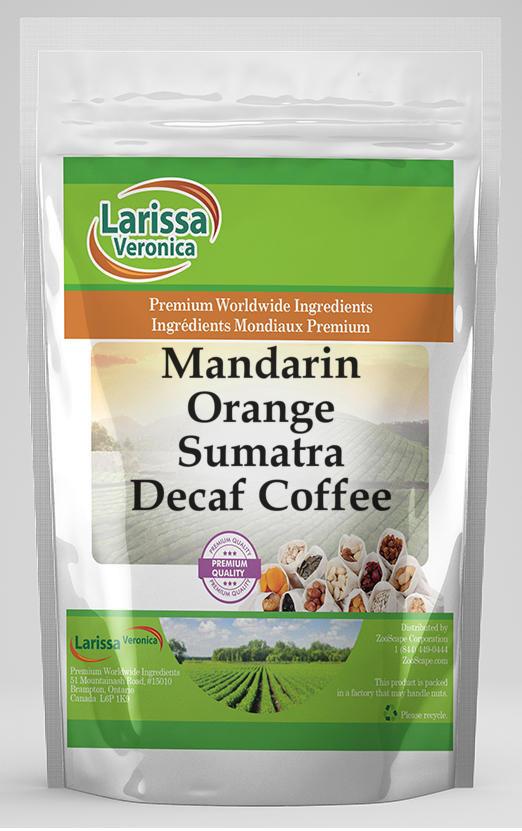 Mandarin Orange Sumatra Decaf Coffee