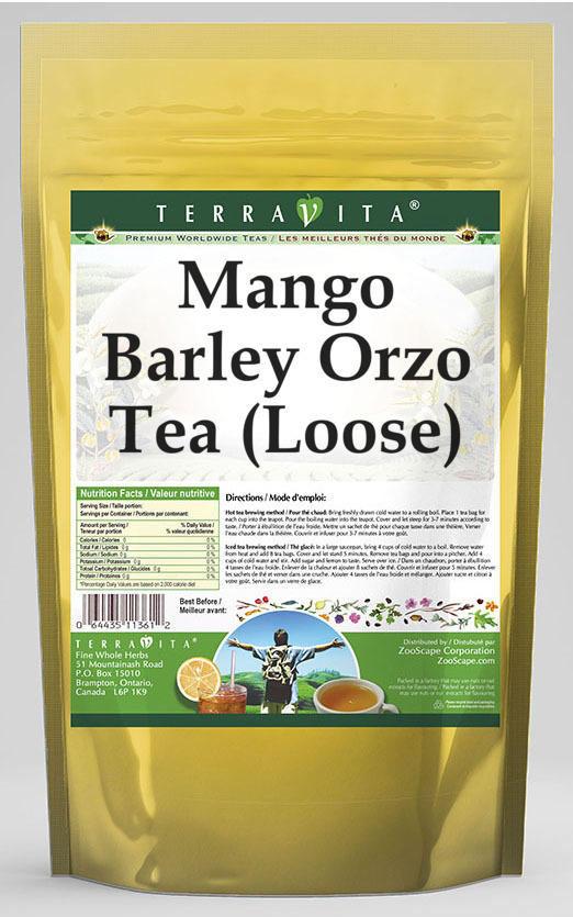 Mango Barley Orzo Tea (Loose)