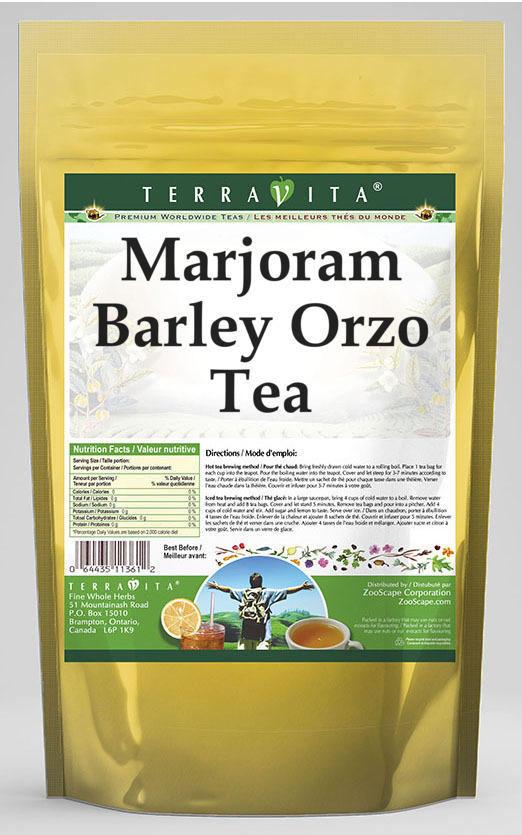 Marjoram Barley Orzo Tea