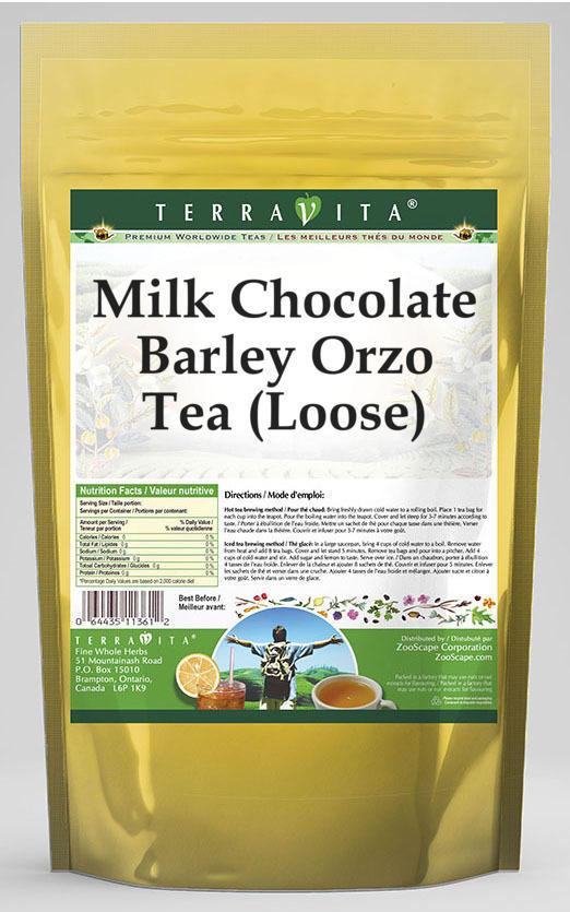 Milk Chocolate Barley Orzo Tea (Loose)