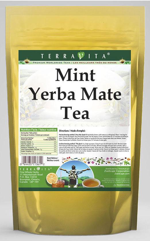 Mint Yerba Mate Tea