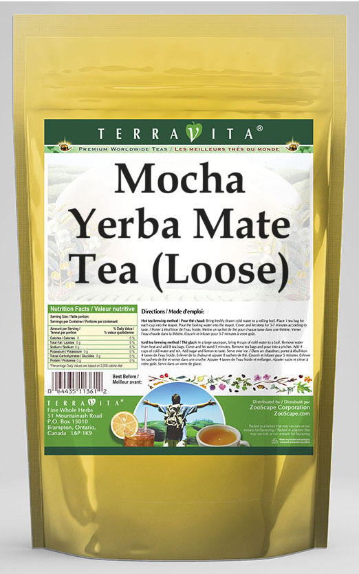 Mocha Yerba Mate Tea (Loose)