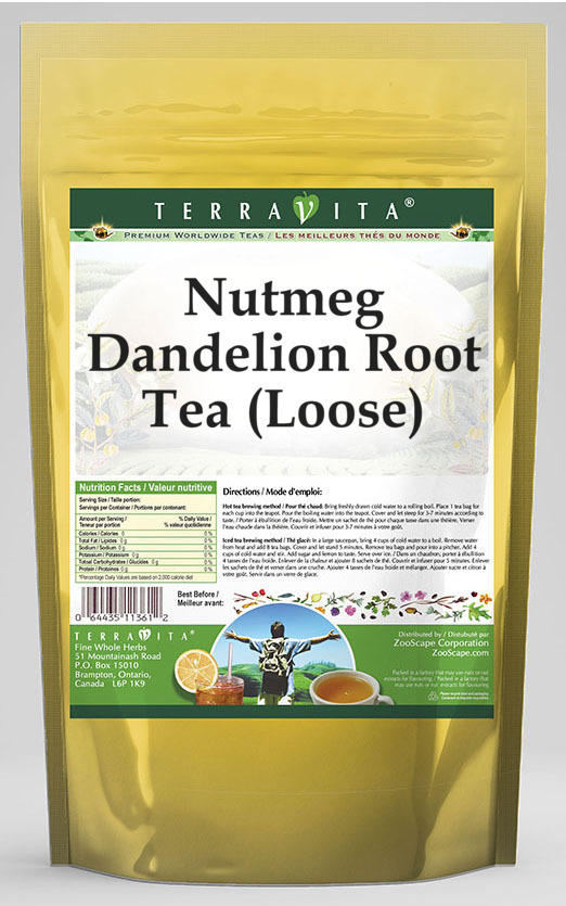 Nutmeg Dandelion Root Tea (Loose)