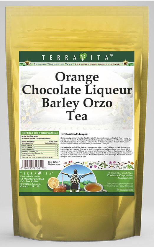 Orange Chocolate Liqueur Barley Orzo Tea