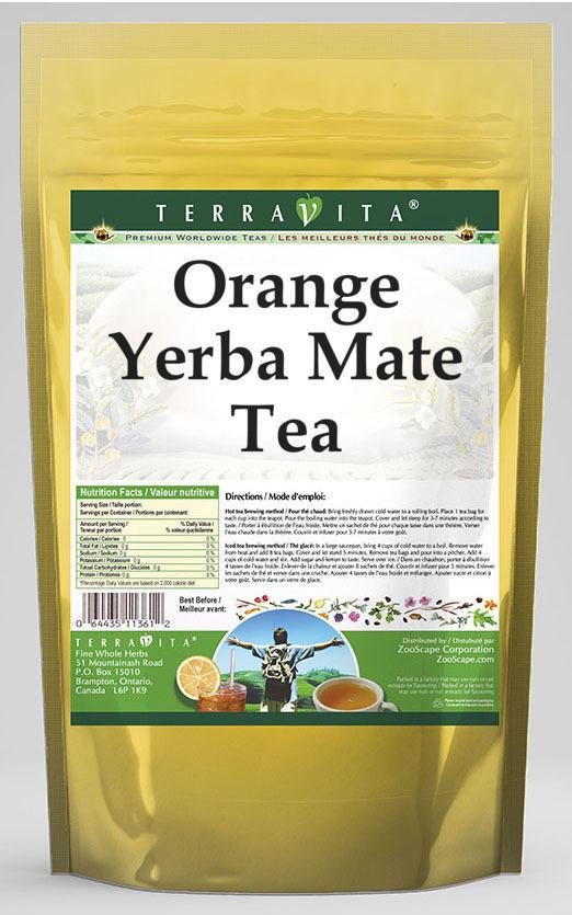 Orange Yerba Mate Tea