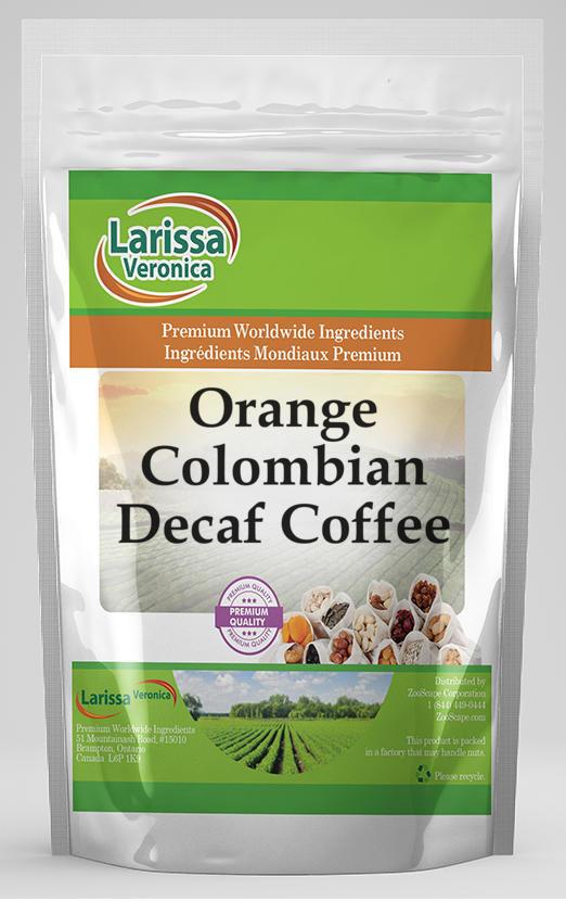 Orange Colombian Decaf Coffee