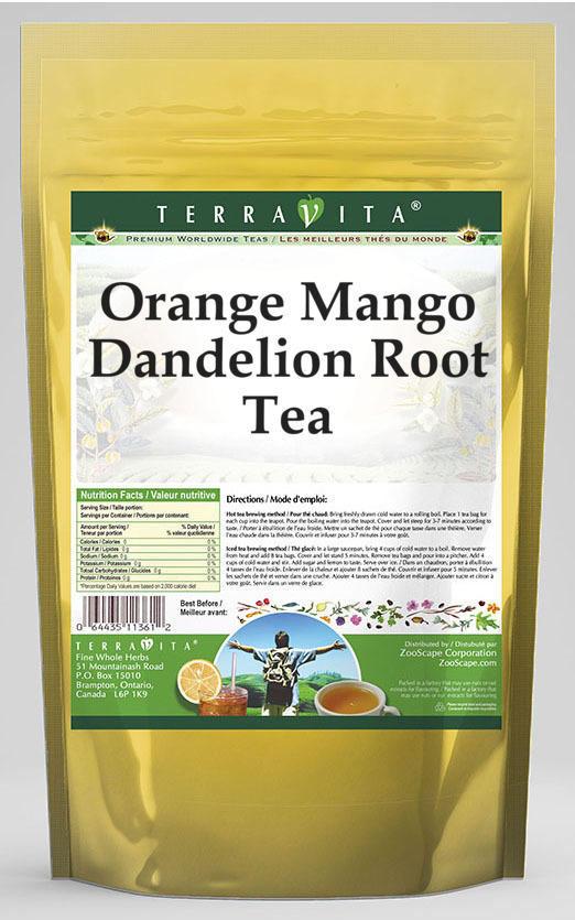 Orange Mango Dandelion Root Tea