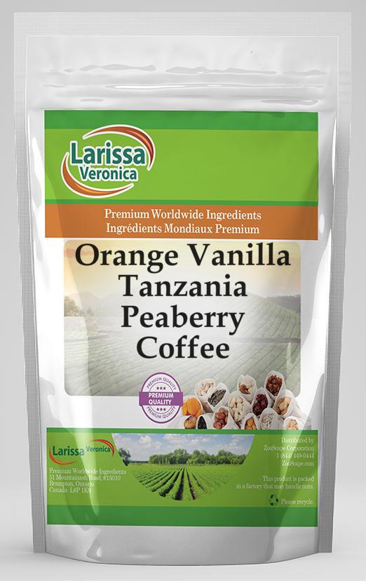 Orange Vanilla Tanzania Peaberry Coffee
