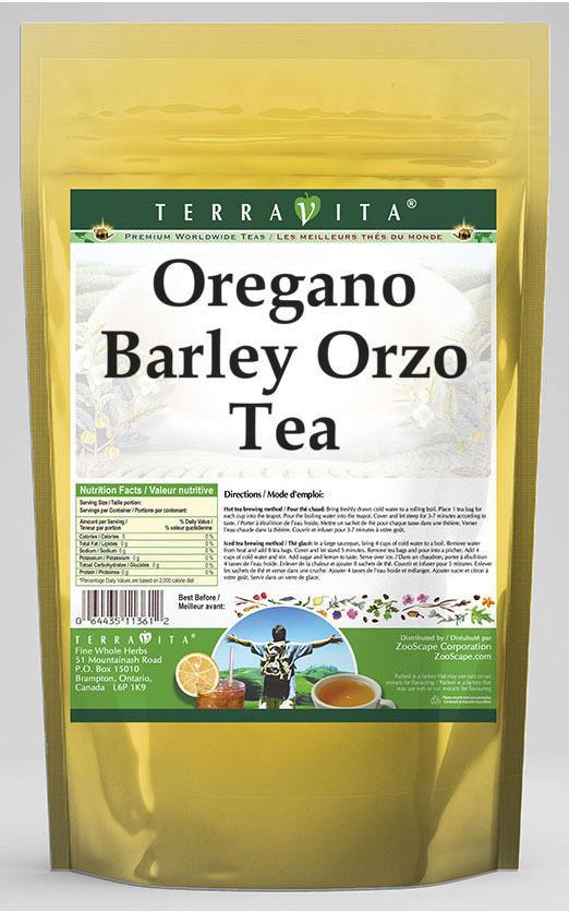 Oregano Barley Orzo Tea
