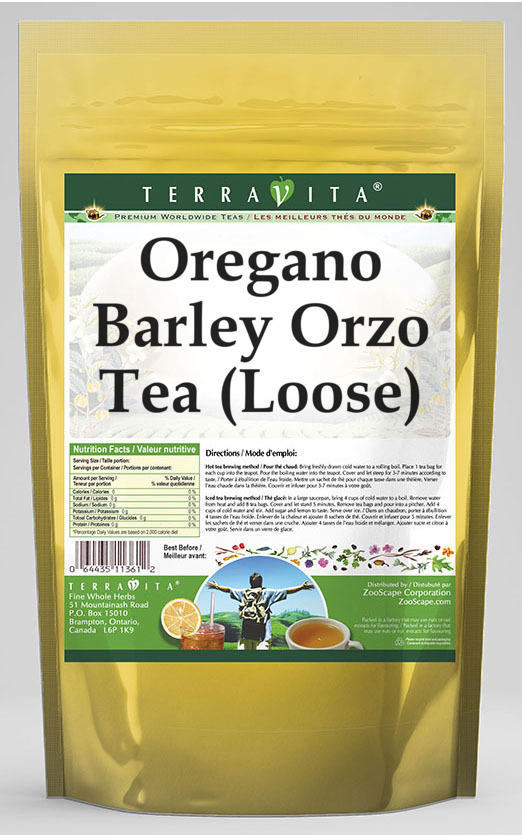 Oregano Barley Orzo Tea (Loose)